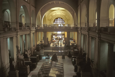 The Antiquities Museum, Cairo, Egypt.