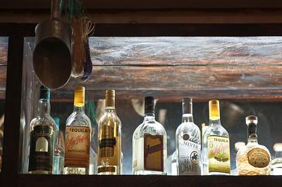 Tequila bar, the San Salvador, El Salvador InterContinental hotel.