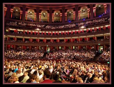The Royal Albert Hall, London, England.