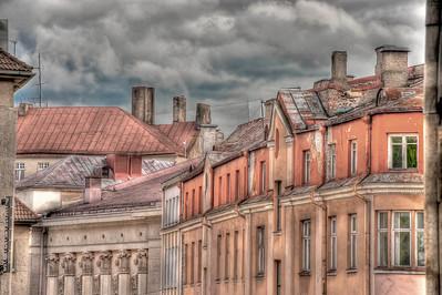 HDR: Rooftops, Tallinn, Estonia.