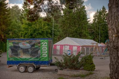 Along the roadside in Estonia.