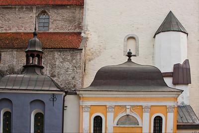 Buildings, Tallinn, Estonia.