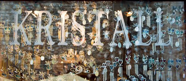 Crystal shop, Tallinn, Estonia.
