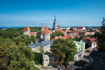 Tallinn, Estonia old town.
