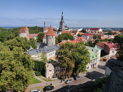 Old Town, Tallinn, Estonia, August 2019.
