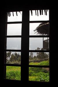 View over Mt. Entoto, Ethiopia.
