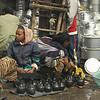 Teapot vendors, the Merkado, Addis Ababa, Ethiopia.