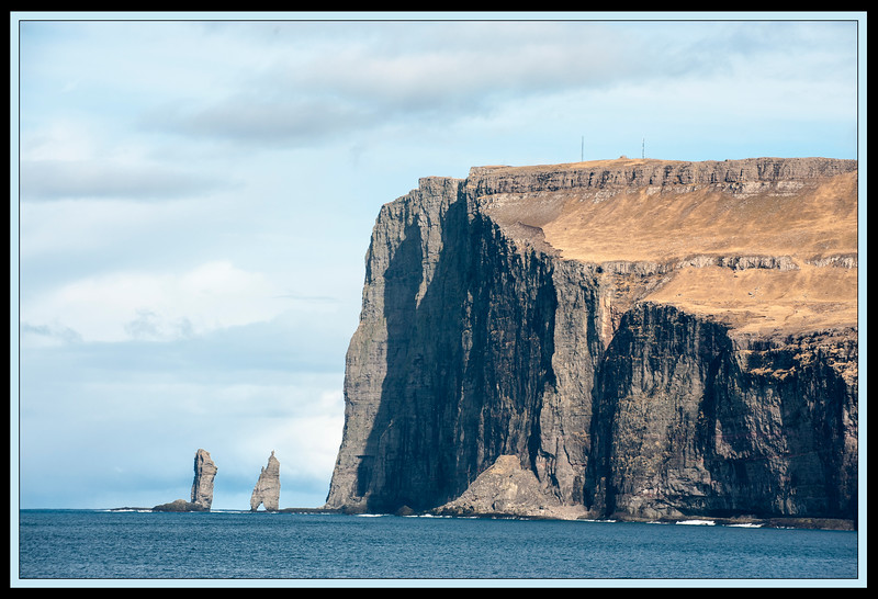 Risin og Kellingin, the giant (left) and the witch, Faroe Islands.