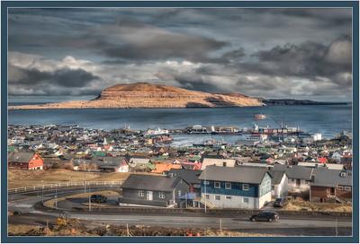 Torshavn, Faroe Islands, HDR