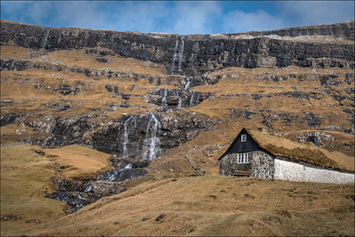 In the village of Saksun, Streymoy, Faroe Islands