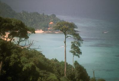 Bay on Vanua Levu island, Fiji.