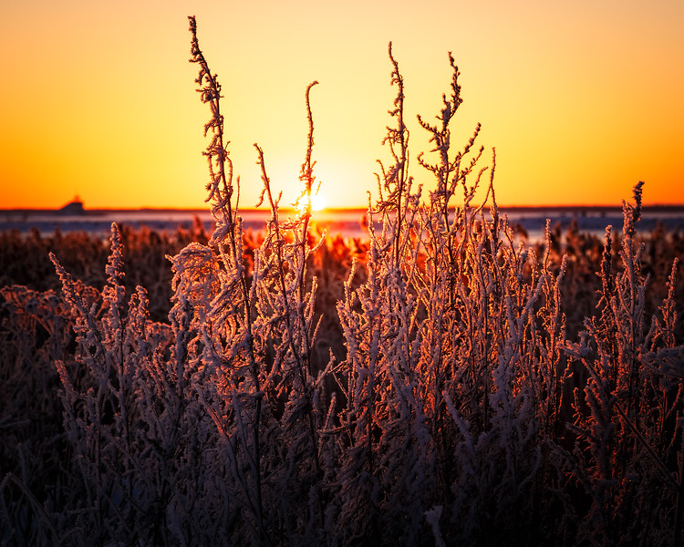 Winter Sunset Toppila