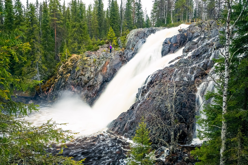 Hepoköngäs Waterfall