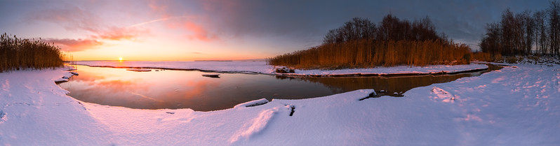 Toppila Sunset Pano