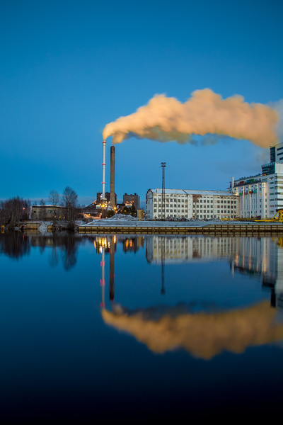 Factory Reflections