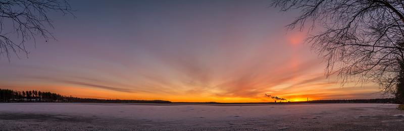 Lake Pyykösjärvi Sunrise