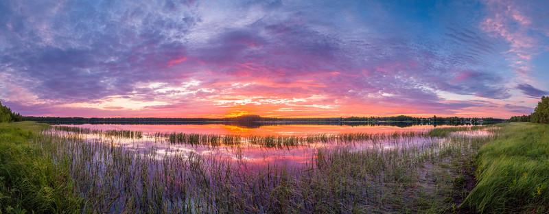Midsummer Sunset 3