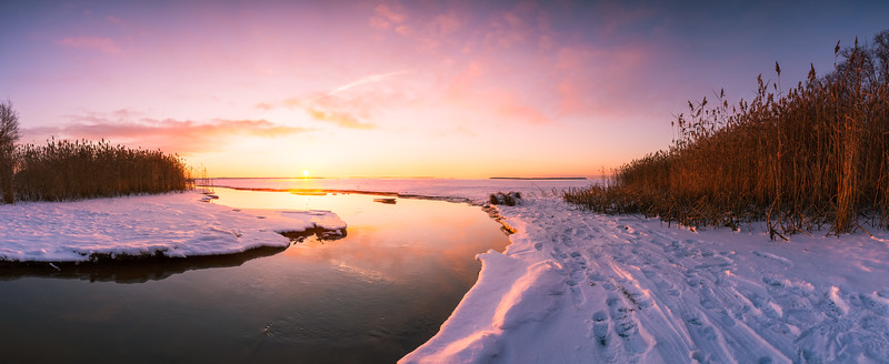 Toppila Sunset Pano #2