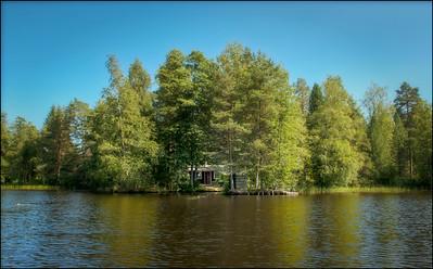 Secret Sauna, Finland.