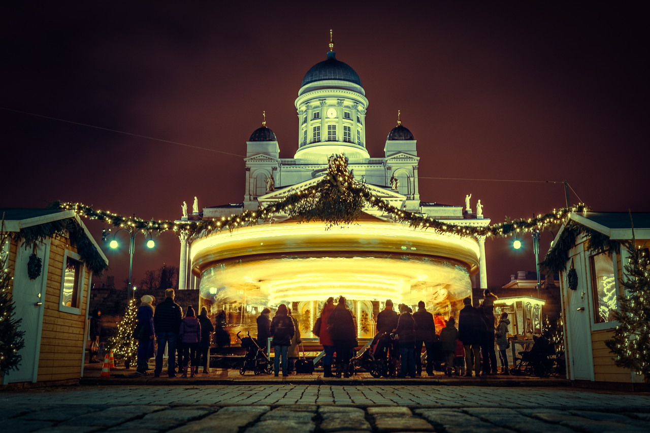Christmas Market (Helsinki, Finland)