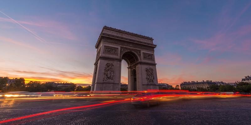 France, Paris, Arc de Triomph