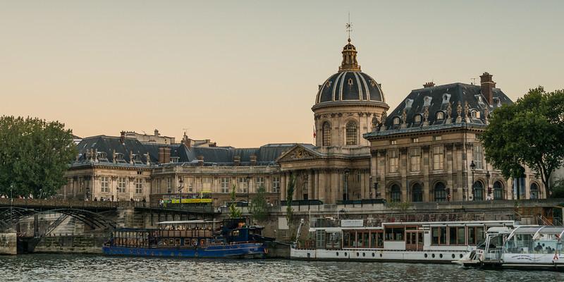 France, Paris, boat on Seine