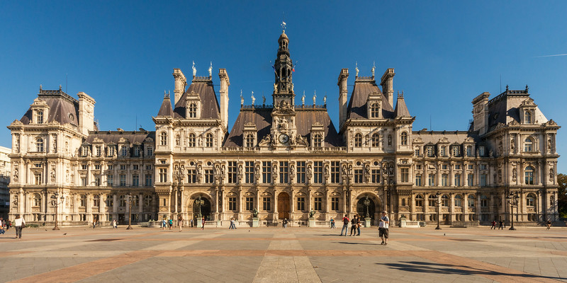 France, Paris, Hotel de Ville