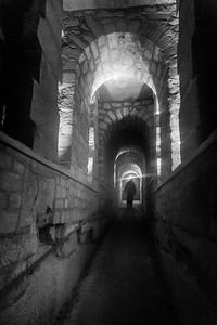 Down in the catacombs of Paris