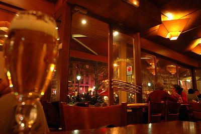 Bistro, Rue St. Michel, Paris, France.