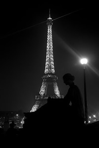 That famous tower in Paris  **explored**