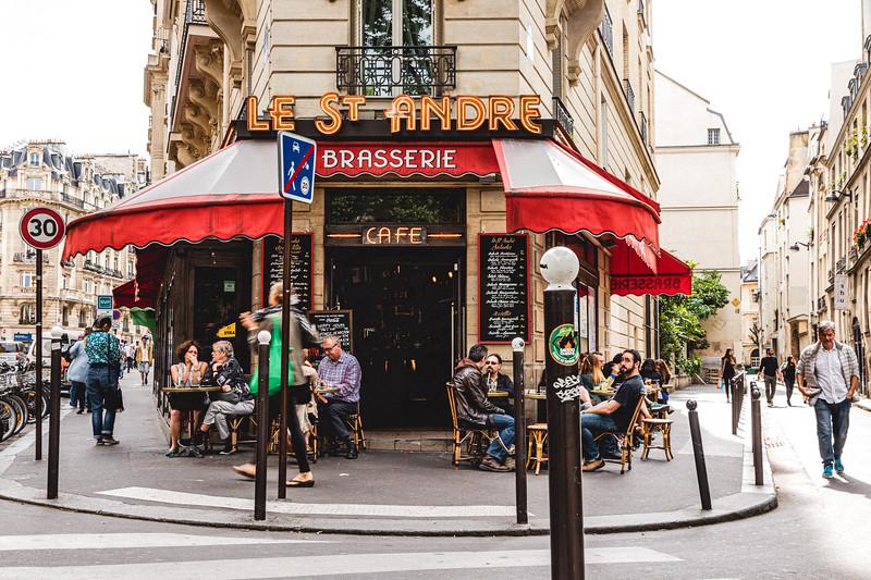 Paris Cafe Life