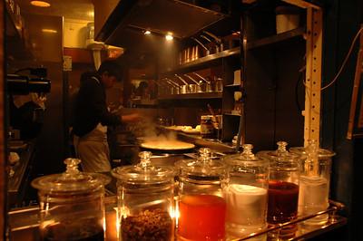 Short order cook, Paris, France.