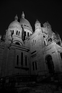 Sacré-Coeur at night