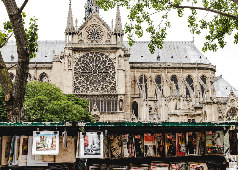 News Stand and the Notre Dame