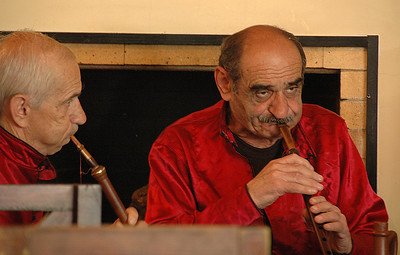 Duduki musicians, Republic of Georgia.