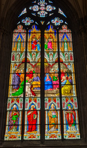 Cologne Cathedral  Stained Glass 4