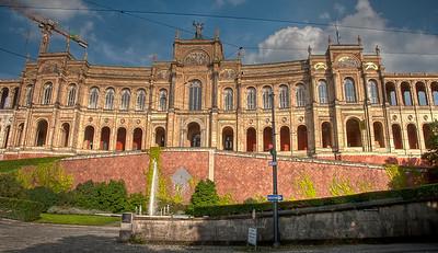 HDR: Maximilianaeum, Munich, Germany.