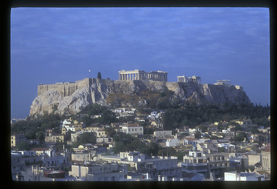 The Parthenon atop the Acropolis, Athens, Greece.