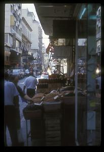 Street scene, Athens, Greece.