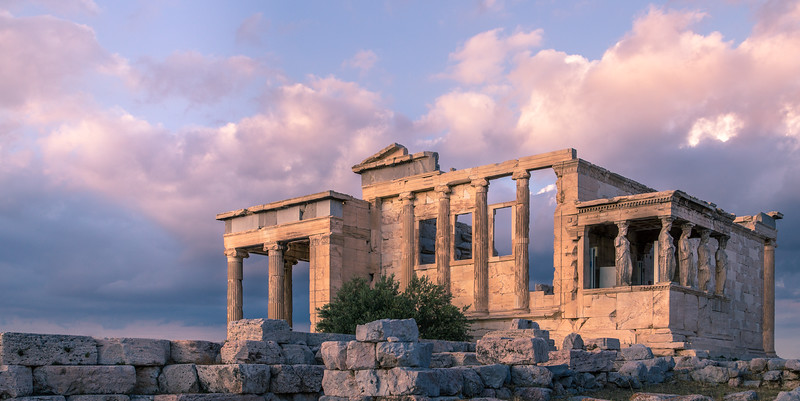 The Acropolis in Athens Greece.
