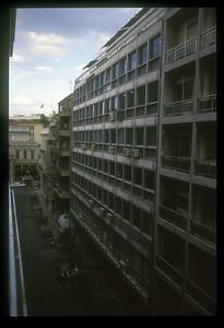Buildings, Athens, Greece.