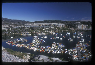 Ilulissat harbor, Greenland.