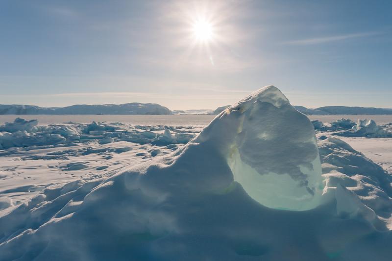 Ice in backlight