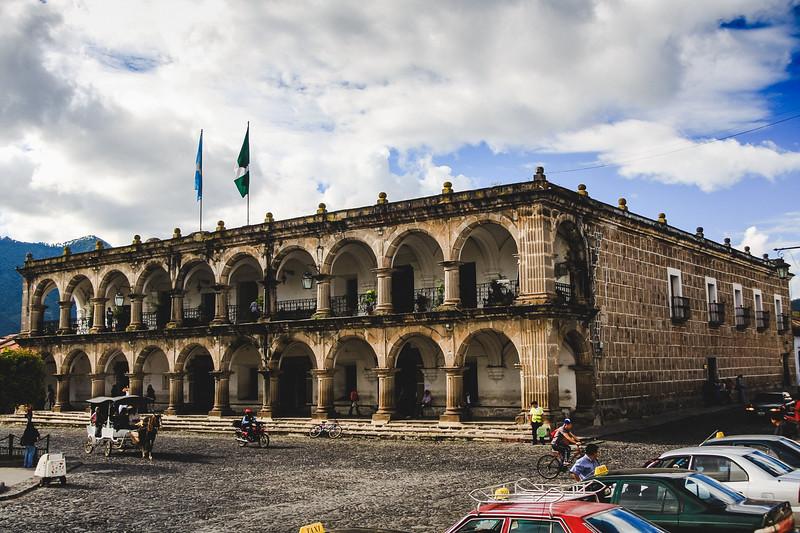 Antigua Colonial Building