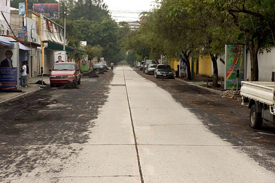 Volcanic ash, Guatemala City, three days after the eruption of Volcan Pacaya, May 2010.