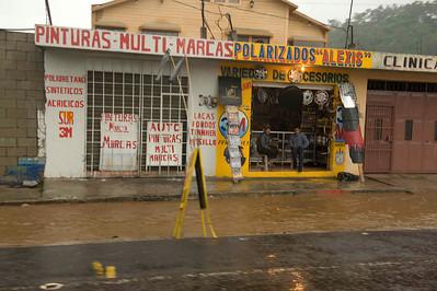 Flooding after tropical storm Agatha, Chimaltenango, Guatemala, May, 2010.