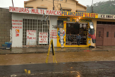 Flooding after tropical storm Agatha, Chimaltenango, Guatemala, May, 2010.