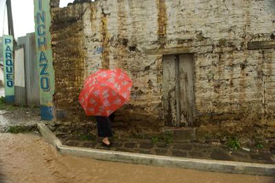 Flooding after tropical storm Agatha, Solola, Guatemala, May, 2010.