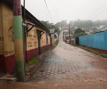 Tropical storm Agatha, Guatemala, May, 2010.