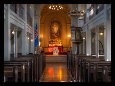 Domkirkjan i Reykjavík, Reykjavik Cathedral, Iceland